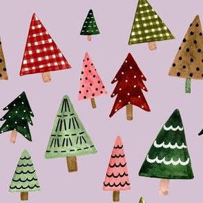 "8"" Holiday Pines // Maverick Lavender"