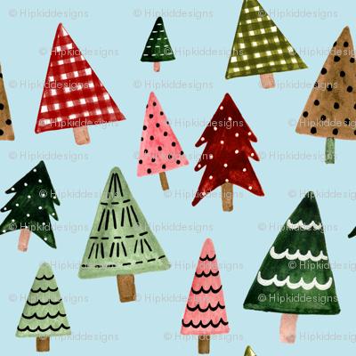 "8"" Holiday Pines // Powder Blue"