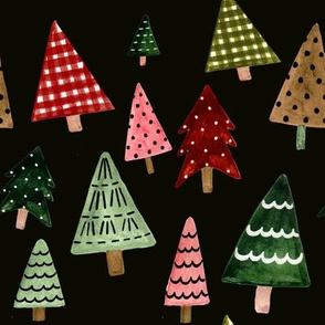 "8"" Holiday Pines // Black"