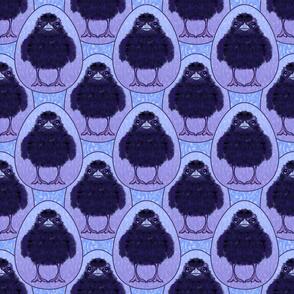 Baby Raven Damask