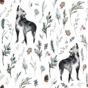 "8"" Wolf Winter Creek // White"