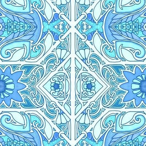 The 8,104,451st Floral on Spoonflower