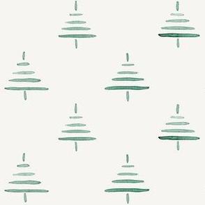 Tiny Trees in green
