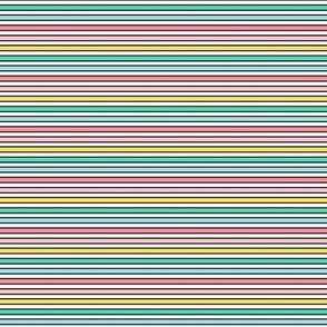 daydreamer rainbow stripes horizontal