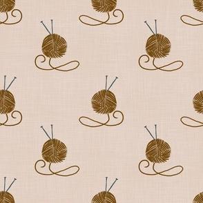 yarn-brown