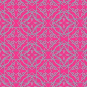 Fluoro Pink Tile