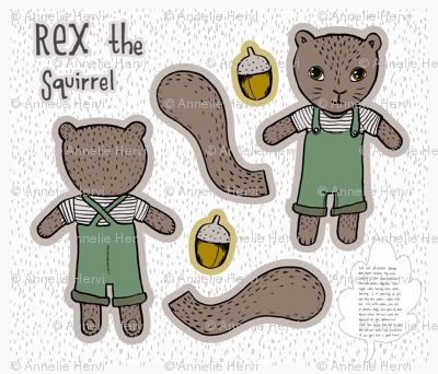 Rex The Squirrel
