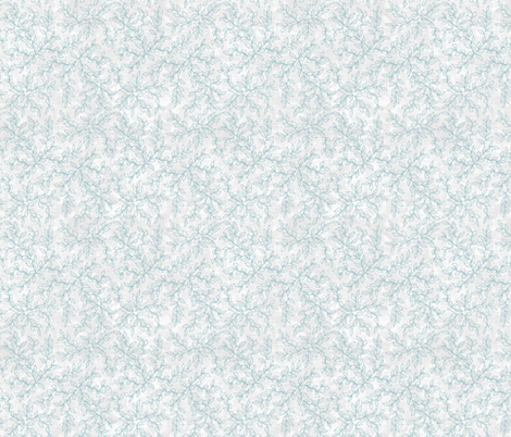 Ocean Vines on White Texture fabric by andrusgardens on Spoonflower - custom fabric