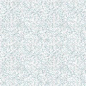 Ocean Vines on White Texture