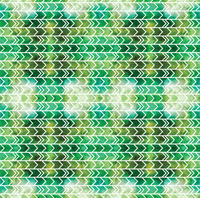 Watercolor Green Yellow Geometric Arrows fabric by jirafixcreative on Spoonflower - custom fabric