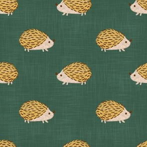 hedgehog-green