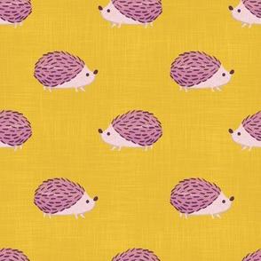 hedgehog-yellow