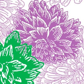 purple and green floral (large)