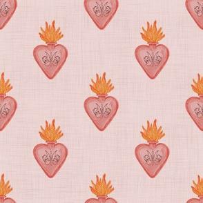 sacred heart-pink
