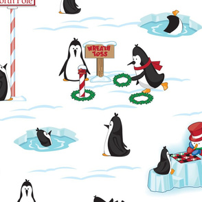 polar games penguins