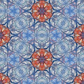 turkish rose in vintage colours