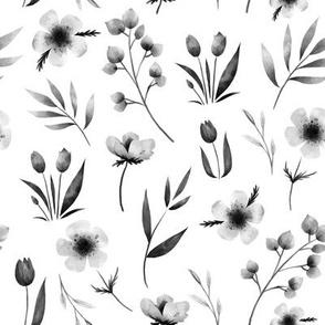 Monochroma Floral