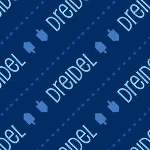 Dreidel Diagonal Blue and Light Blue-01