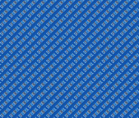 Dreidel Diagonal Blue Dark Blue Gold 24-01 fabric by khaus on Spoonflower - custom fabric