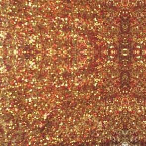 Bronze glitter Kaleidoscope