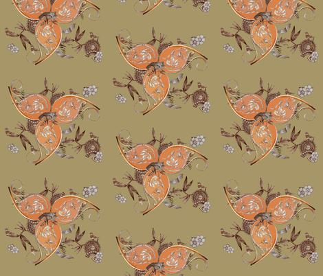victorian pinwheels  fabric by pictor_imaginarius on Spoonflower - custom fabric
