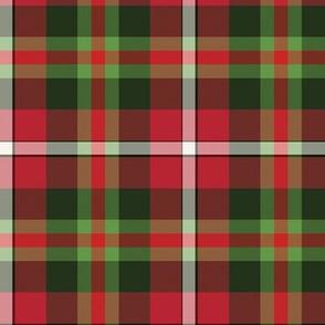 Christmas Tartan Large