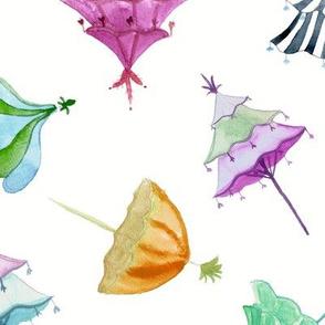 Umbrella Drop Large Scale