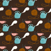 tea time-brown
