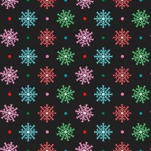 FS Fa-La-La Llama Snowflake with Dots