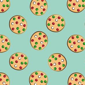 just cookies - christmas cookies on mint