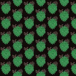 Green Man - Darkened