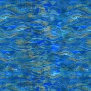 Seventies waves-blue