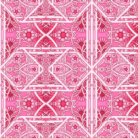 Along the Trellis fabric by edsel2084 on Spoonflower - custom fabric