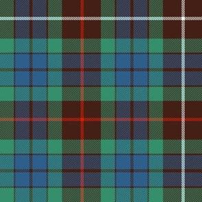 """Fraser hunting tartan, 8"""" ancient"""