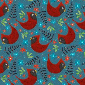 Holiday Redbird, large