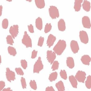 Abstract Dalmatian spots - blush