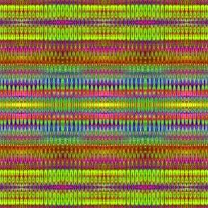 Shimmering Organic Rainbow Ribbons