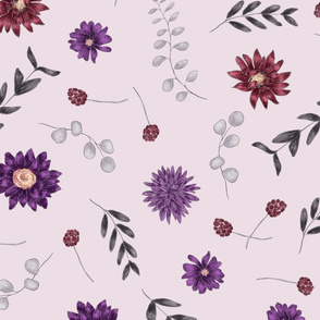 Botanical Any Occasion Wrapping Paper