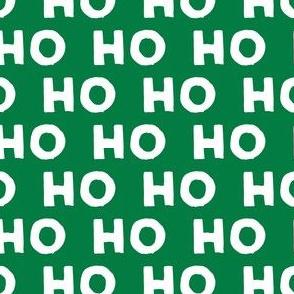 HO HO HO - Santa  - green