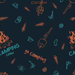 Camping crew pattern