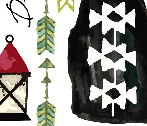 Dreamcatcher - JUMBO size fabric by sarah_treu on Spoonflower - custom fabric