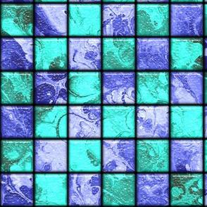 SWIMMING POOL MARBLE TILES 1 aqua blue purple mint