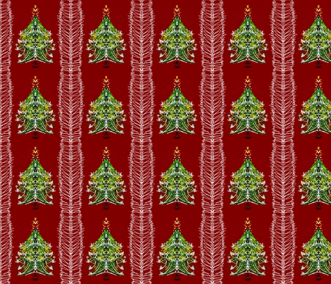 christmastree2 fabric by callicon on Spoonflower - custom fabric