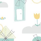 Little Windmills - Main Pattern