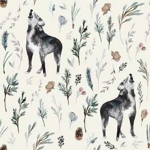 "8"" Wolf Winter Creek // Springwood"