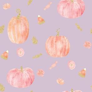 """8"""" Sparkle Pumpkins // Maverick Lavender"""