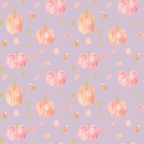 """4"""" Sparkle Pumpkins // Maverick Lavender"""