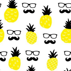 Hipster pineapple