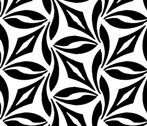Bold Vines, Large fabric by anneostroff on Spoonflower - custom fabric