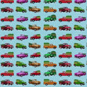 O Christmas truck- light 12 inch